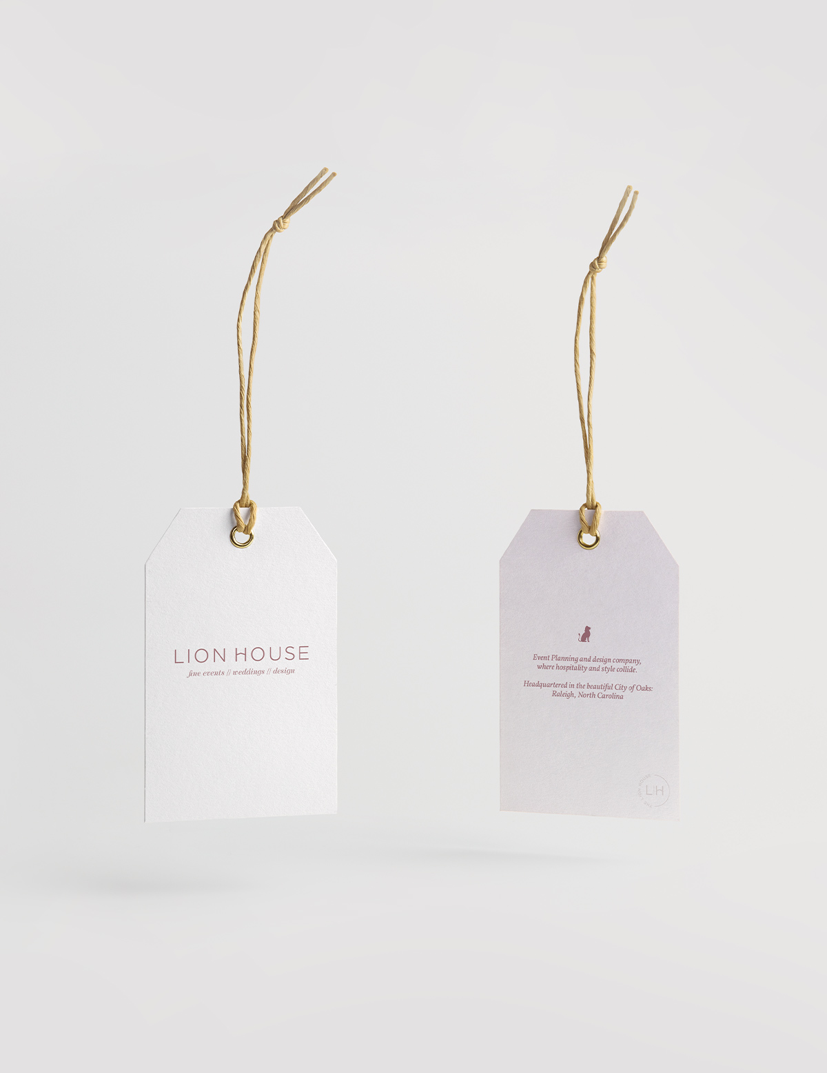 Lion House Branding and Web Design