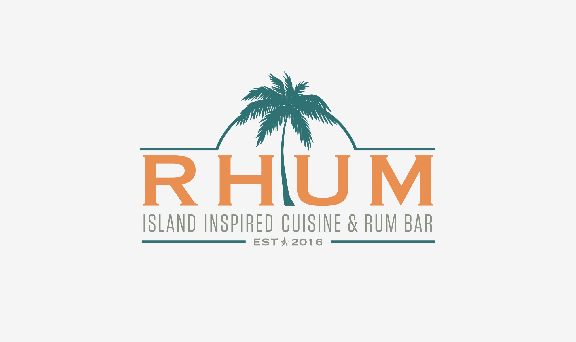 Rhum Bar Logo Design