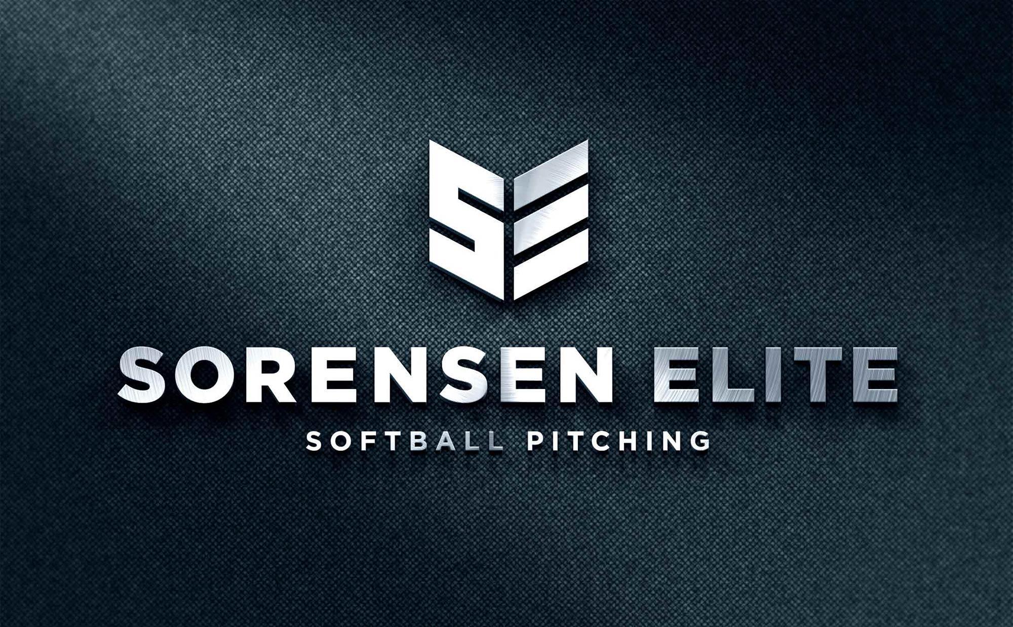Sorensen Elite Softball Pitching Logo Design