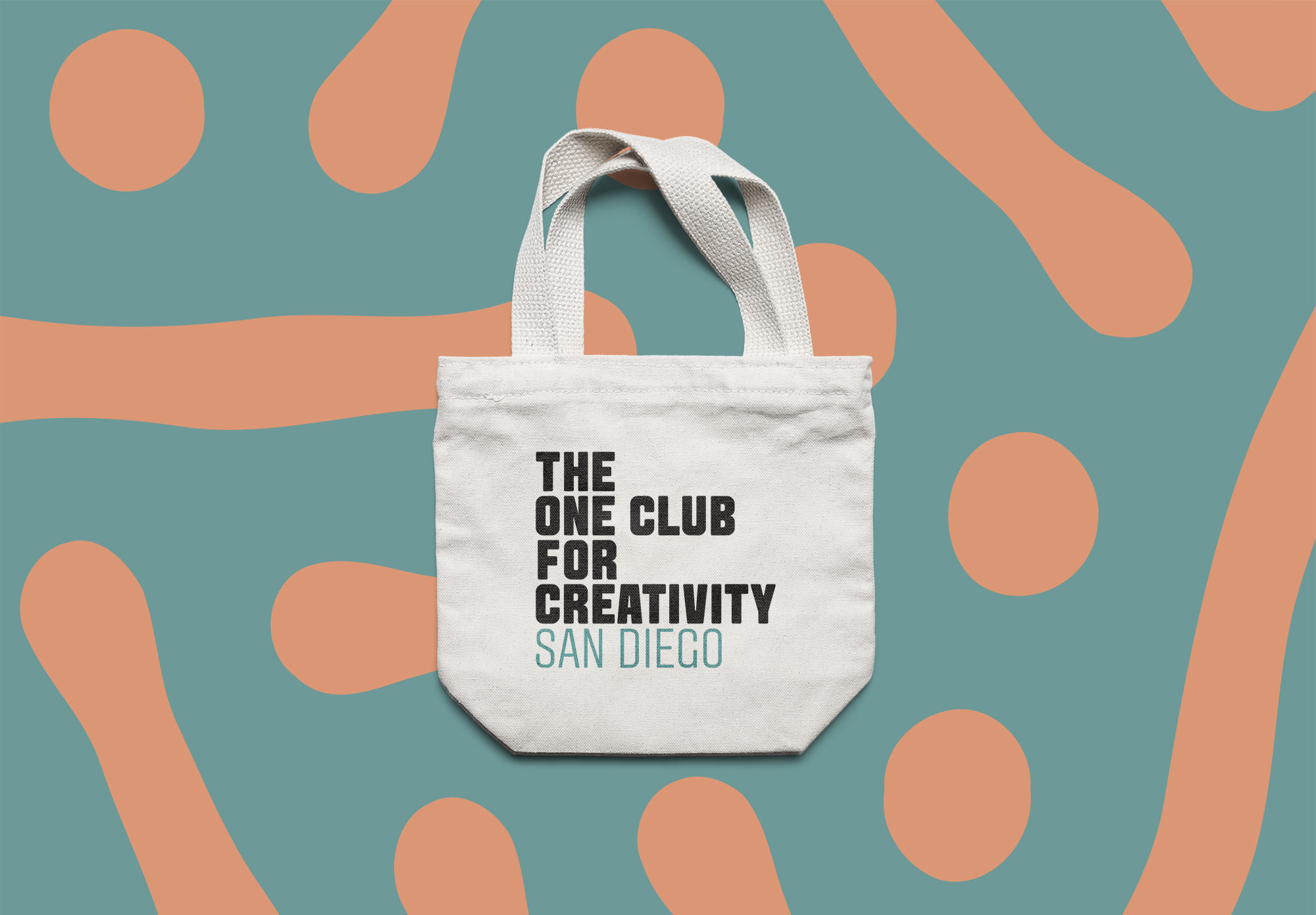 One Club for Creativity San Diego Tote Bag
