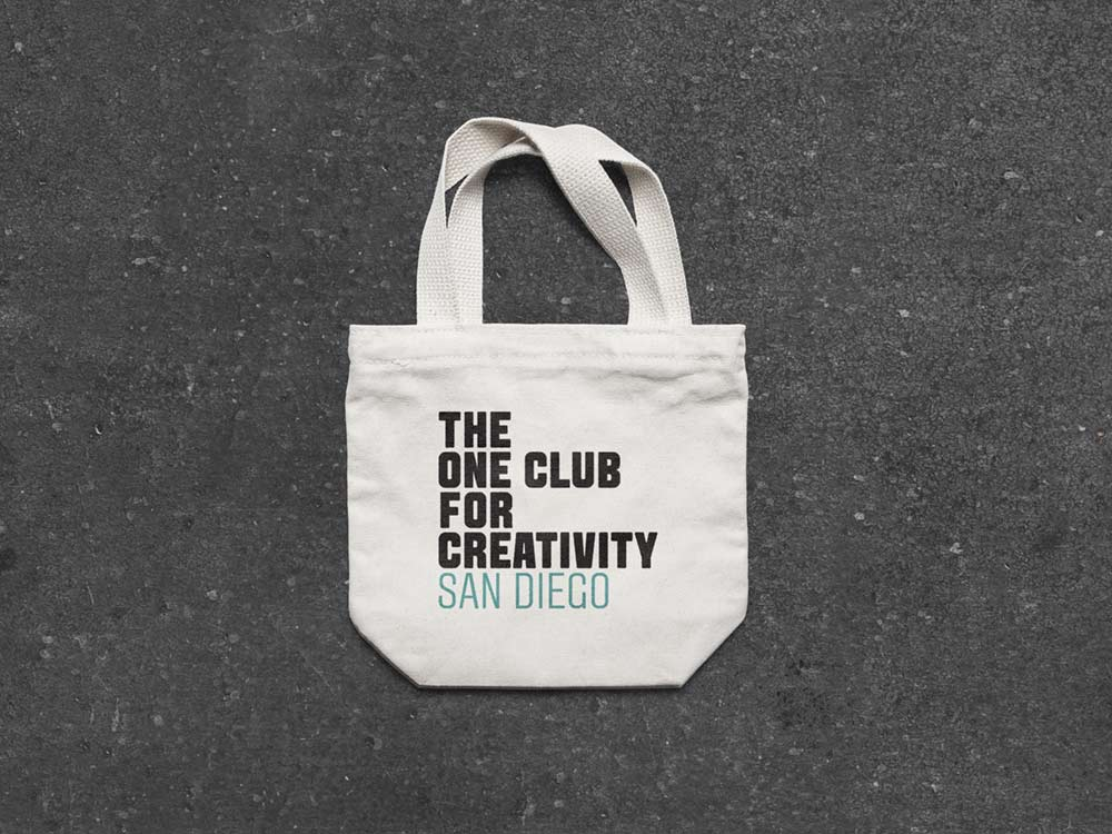 One Club for Creativity San Diego Logo